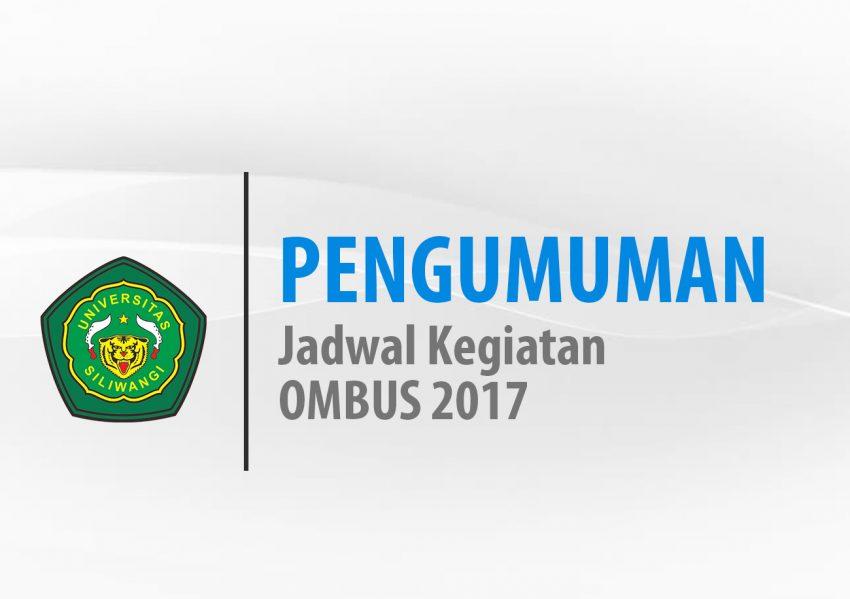 Jadwal Kegiatan OMBUS 2017